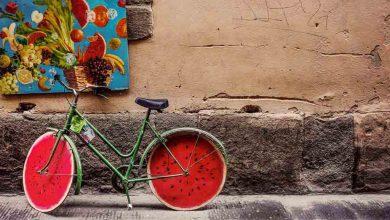 تصویر از رنگ های شاد در نقاشی