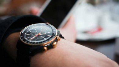 تصویر از ساعت گران قیمت و زیبای یکی از هنرمندان